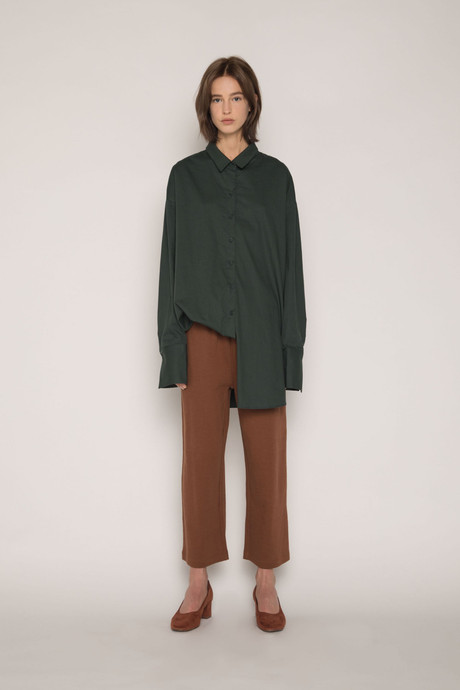 Blouse H309 Green 3