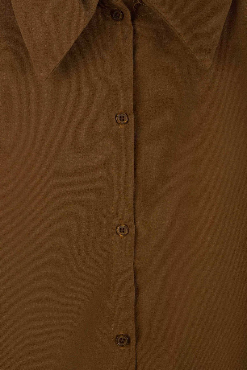 Blouse H363 Brown 6