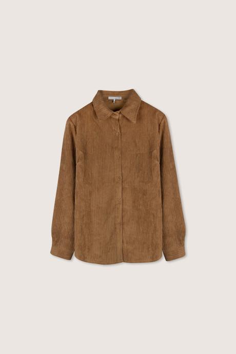 Blouse H371 Brown 6