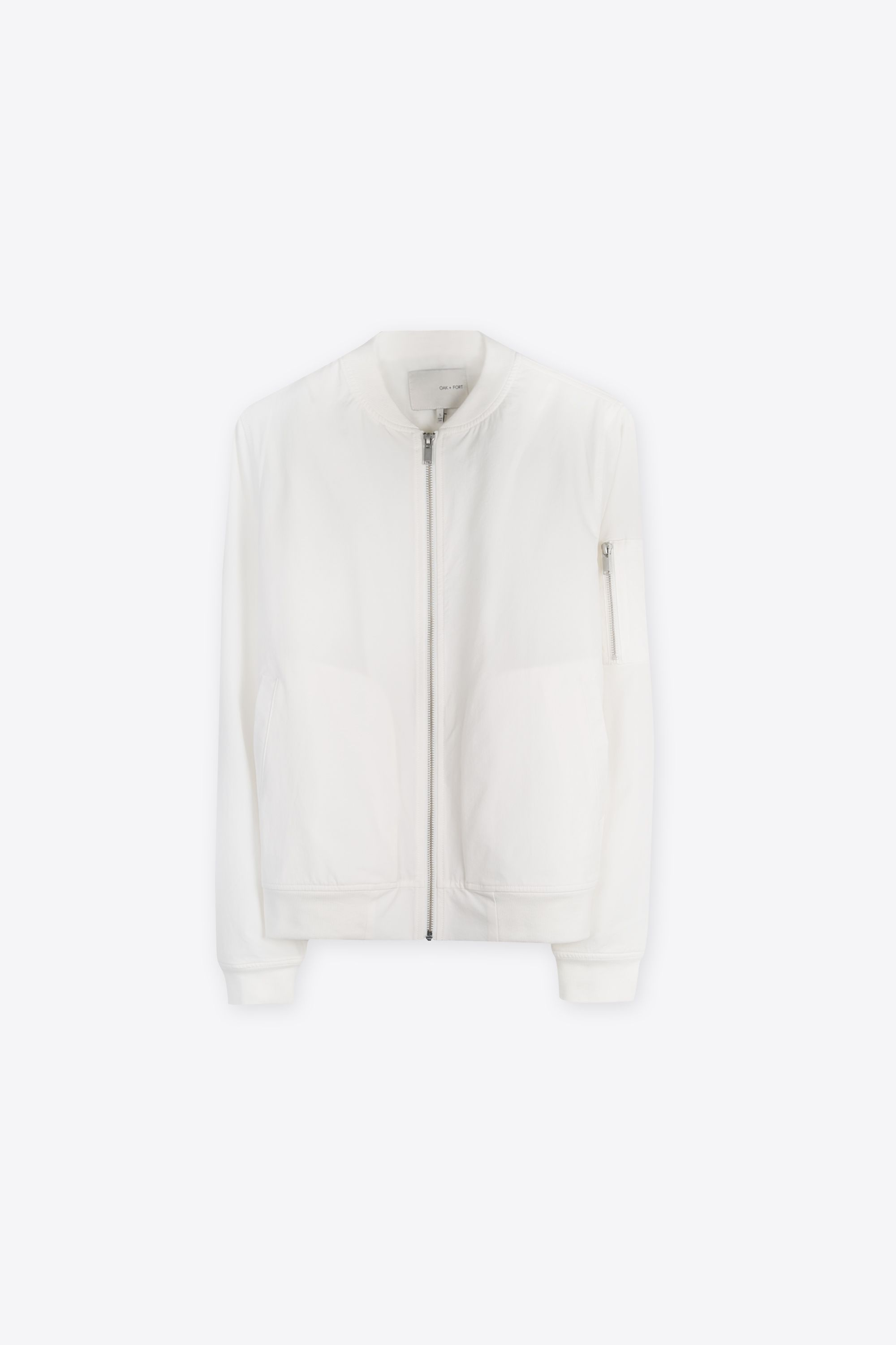 Bomber Jacket 1226 White 9