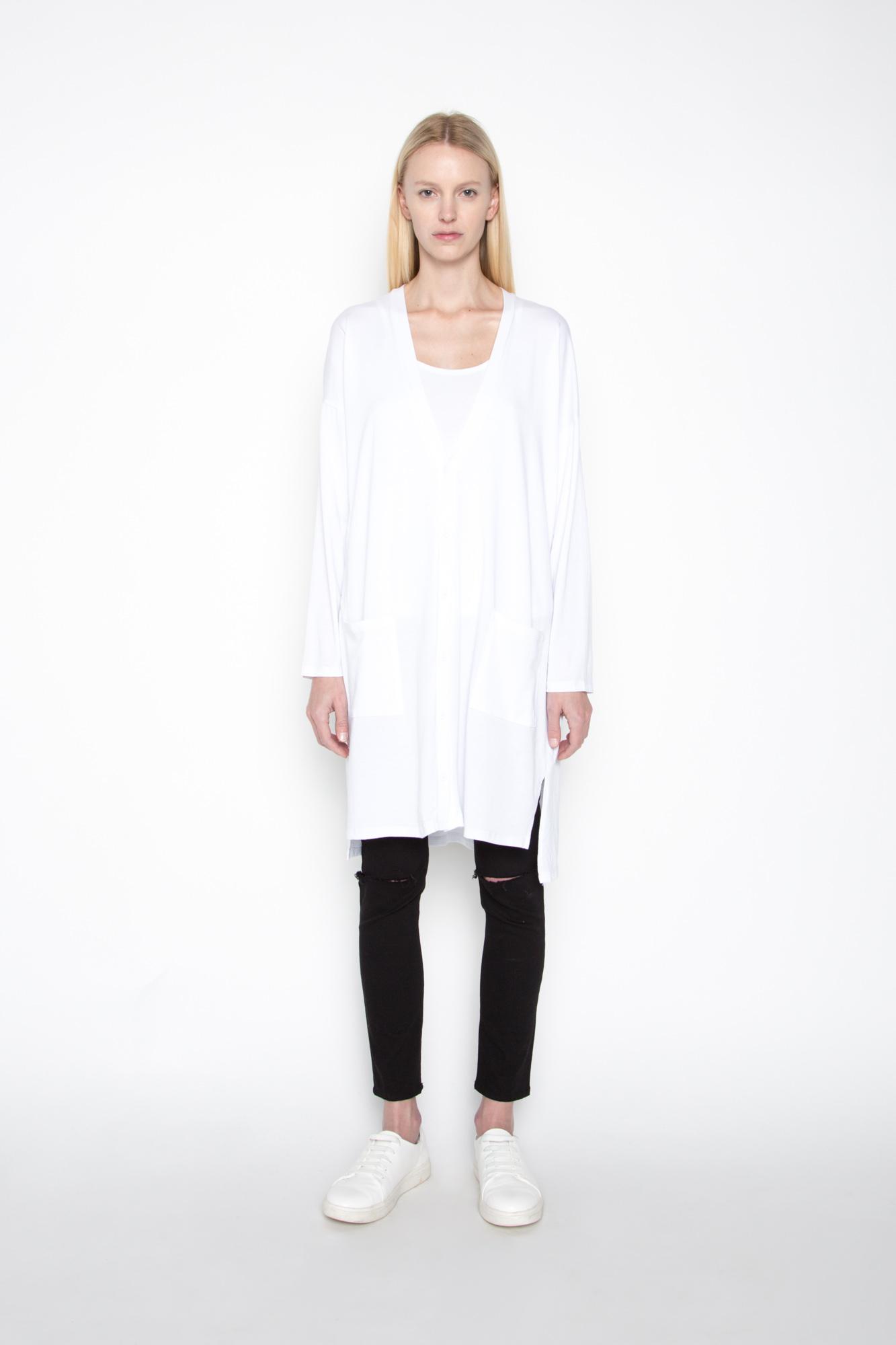 Cardigan 1193 White 3