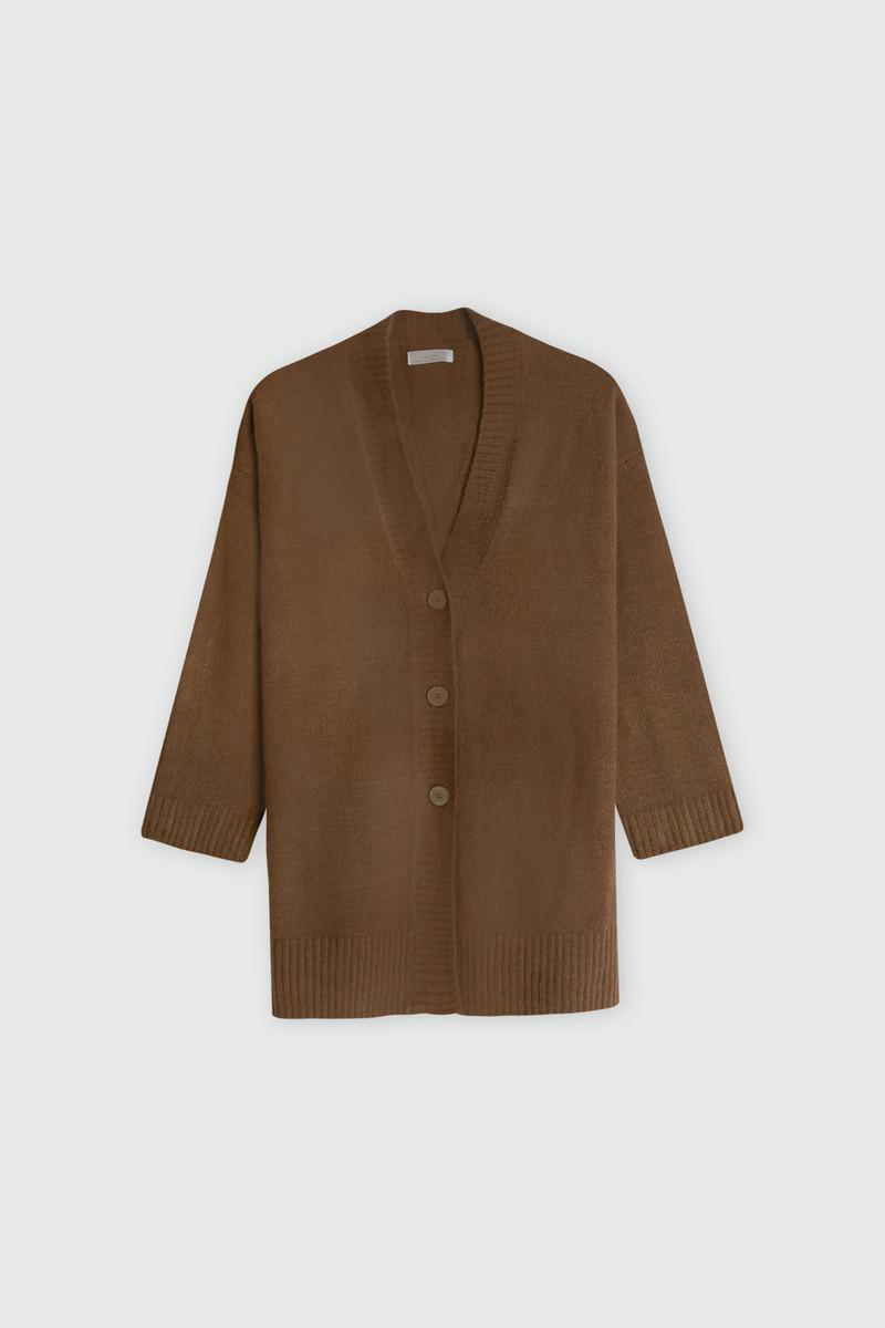 Cardigan 2501 Brown 9