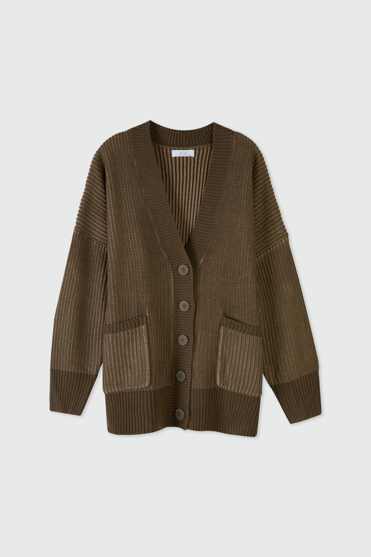 Cardigan 3309 Brown 8