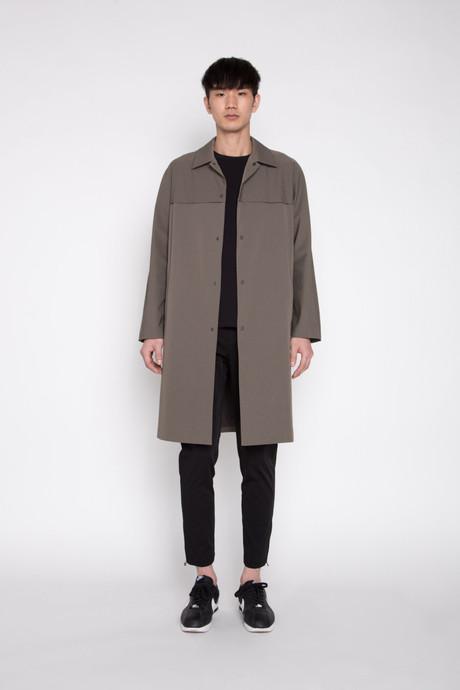 Coat 1139 Taupe 1