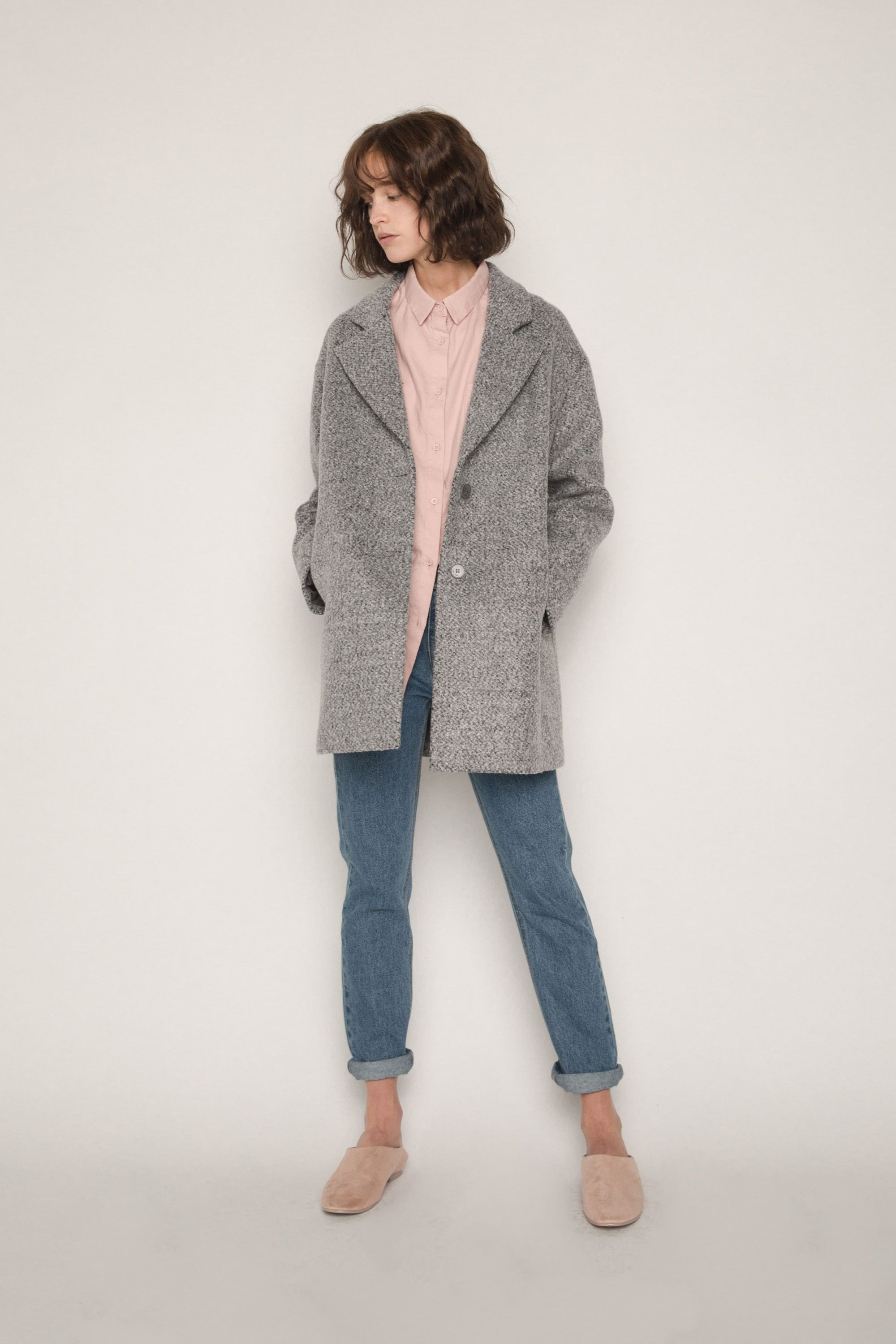 Coat 1527 Gray Mix 1