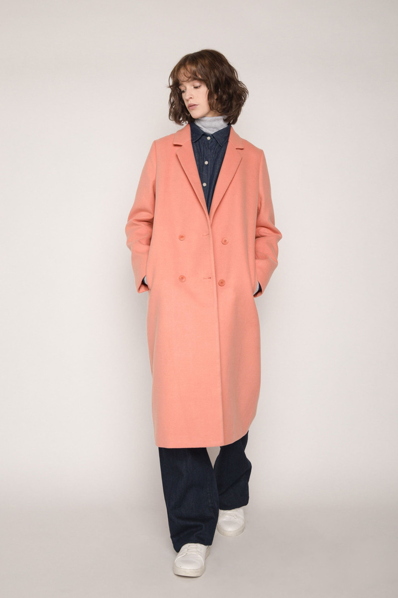 Coat 1529 Salmon 1