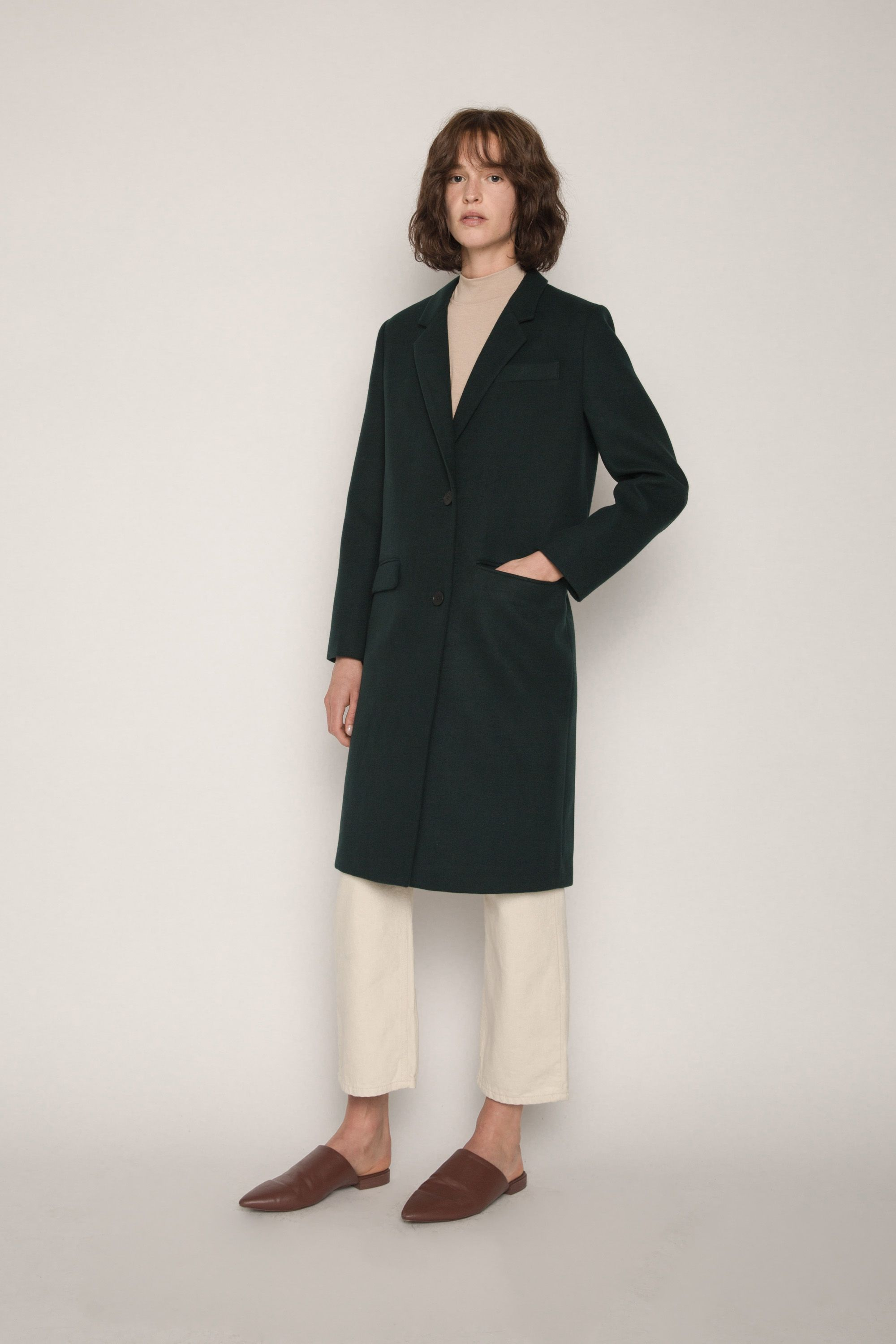 Coat 1888 Forest Green 1