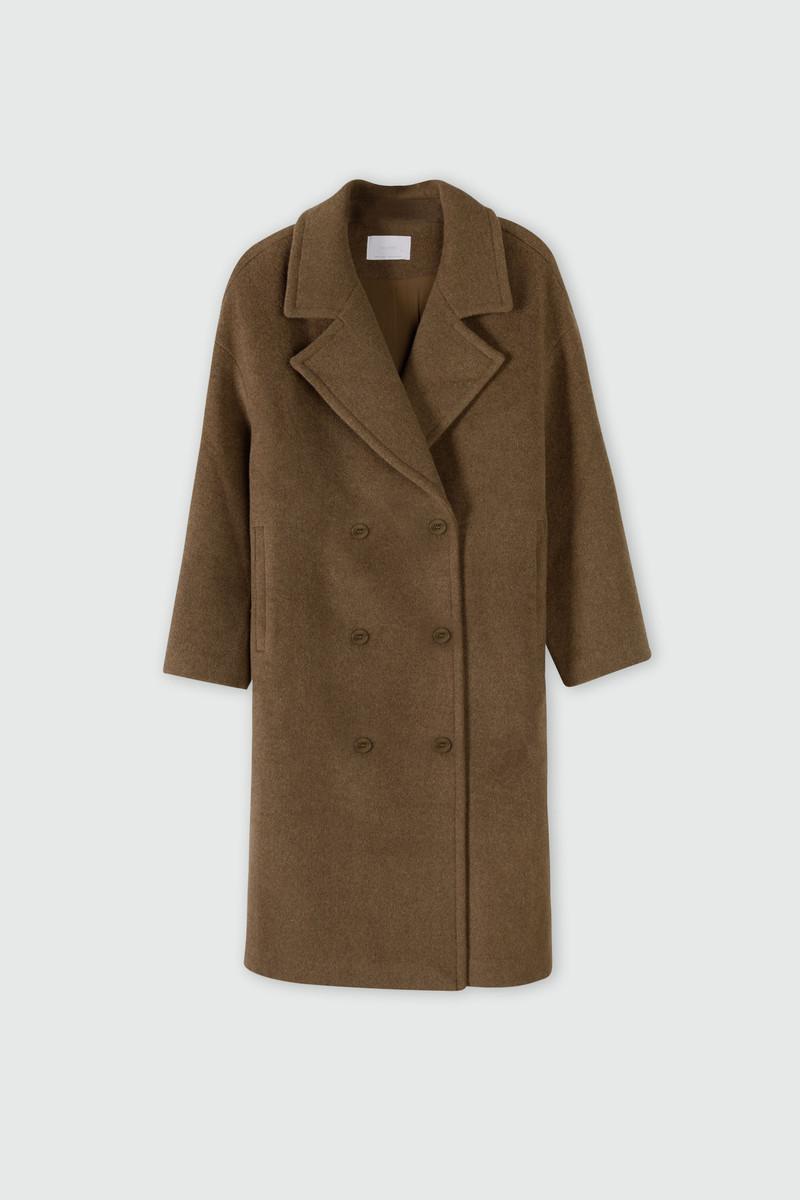 Coat 2616 Brown 2