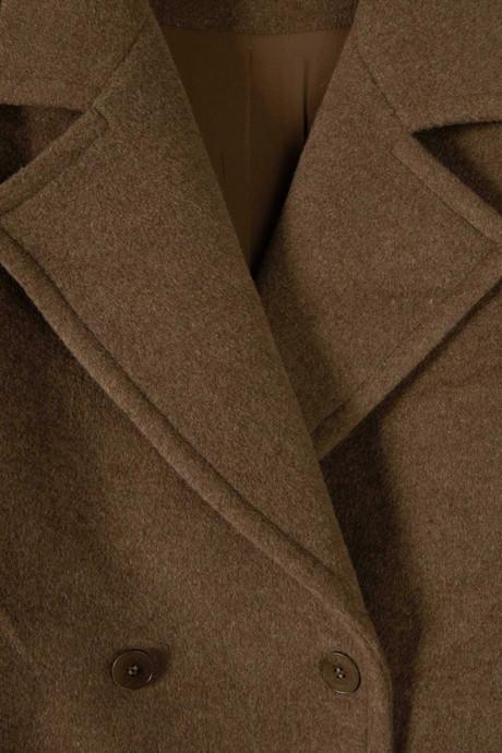 Coat 2616 Brown 3