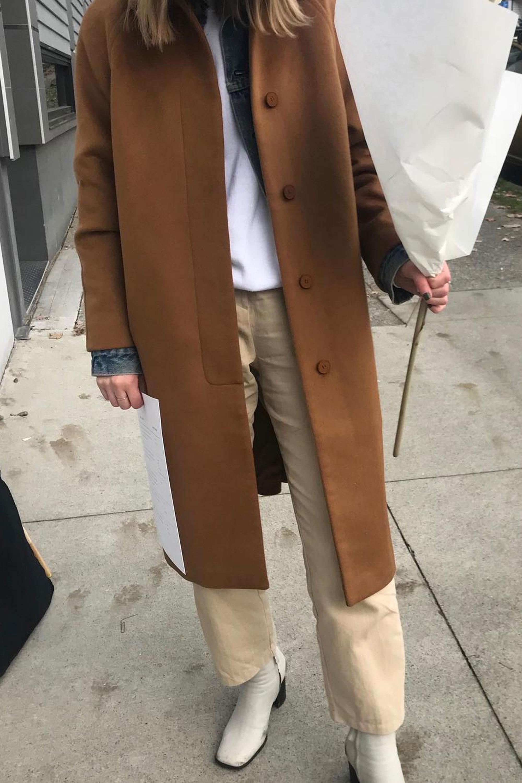 Coat 2692 Camel 1