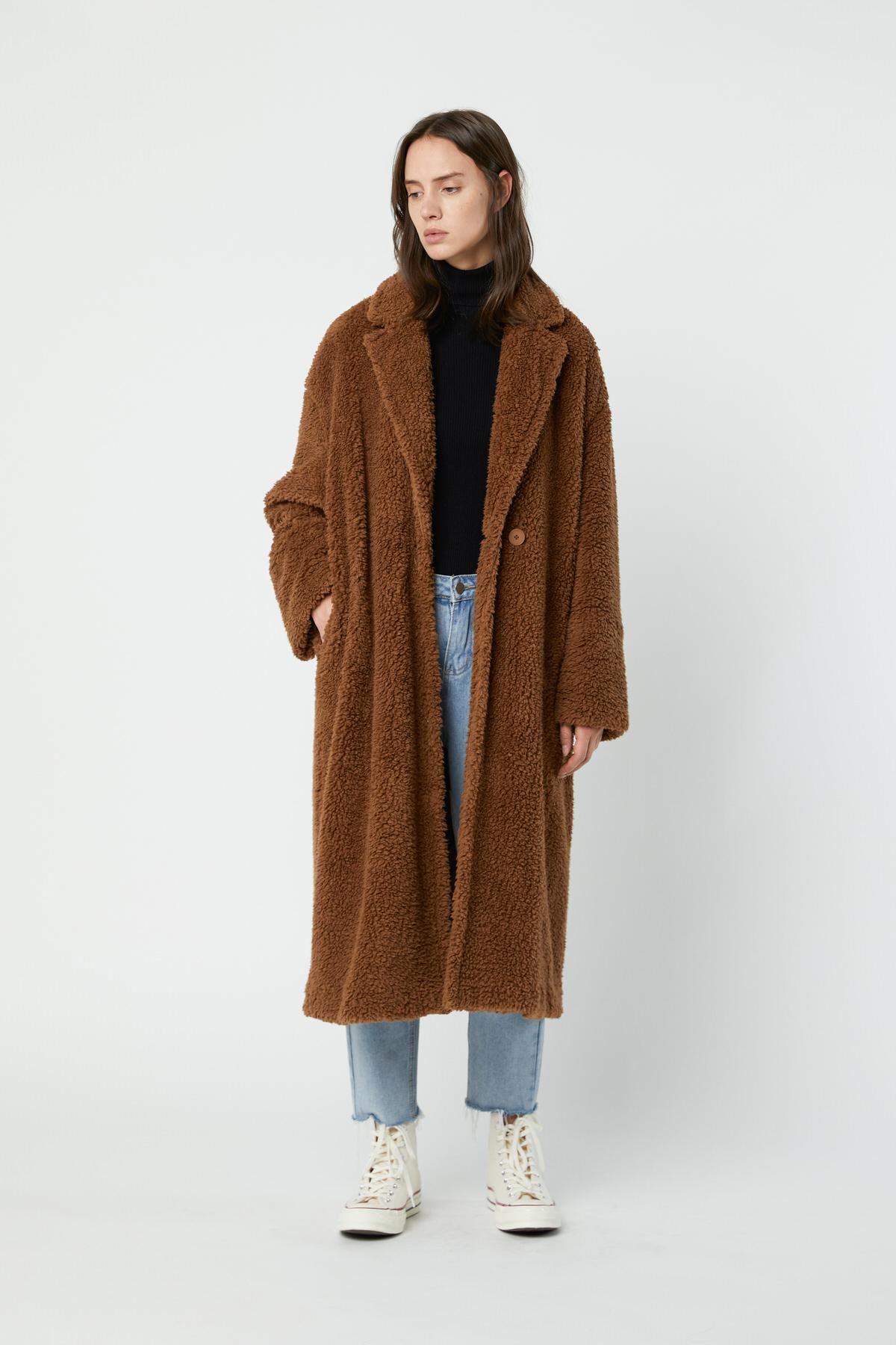 Coat 2694 Camel 1