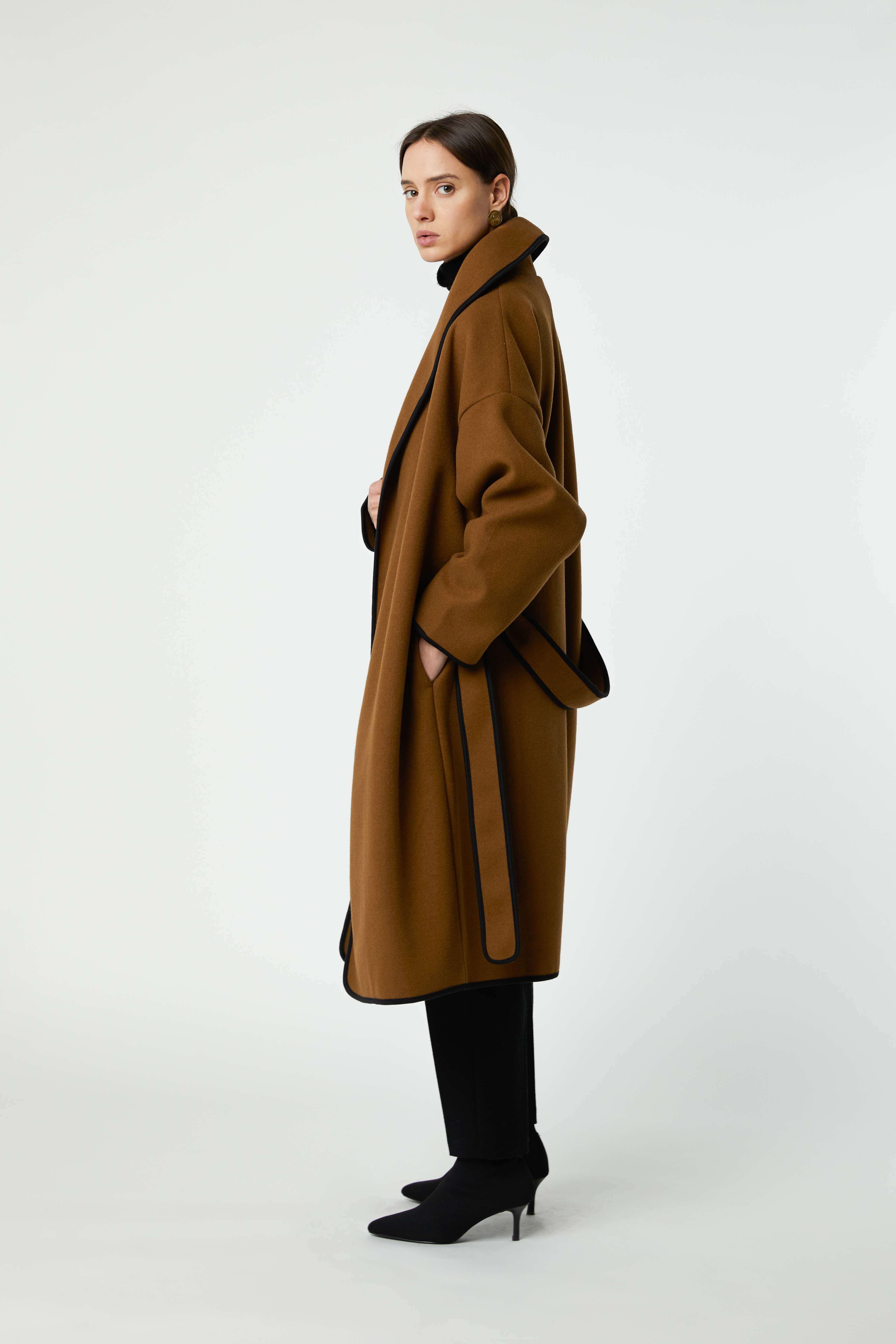 Coat 2769 Brown 1