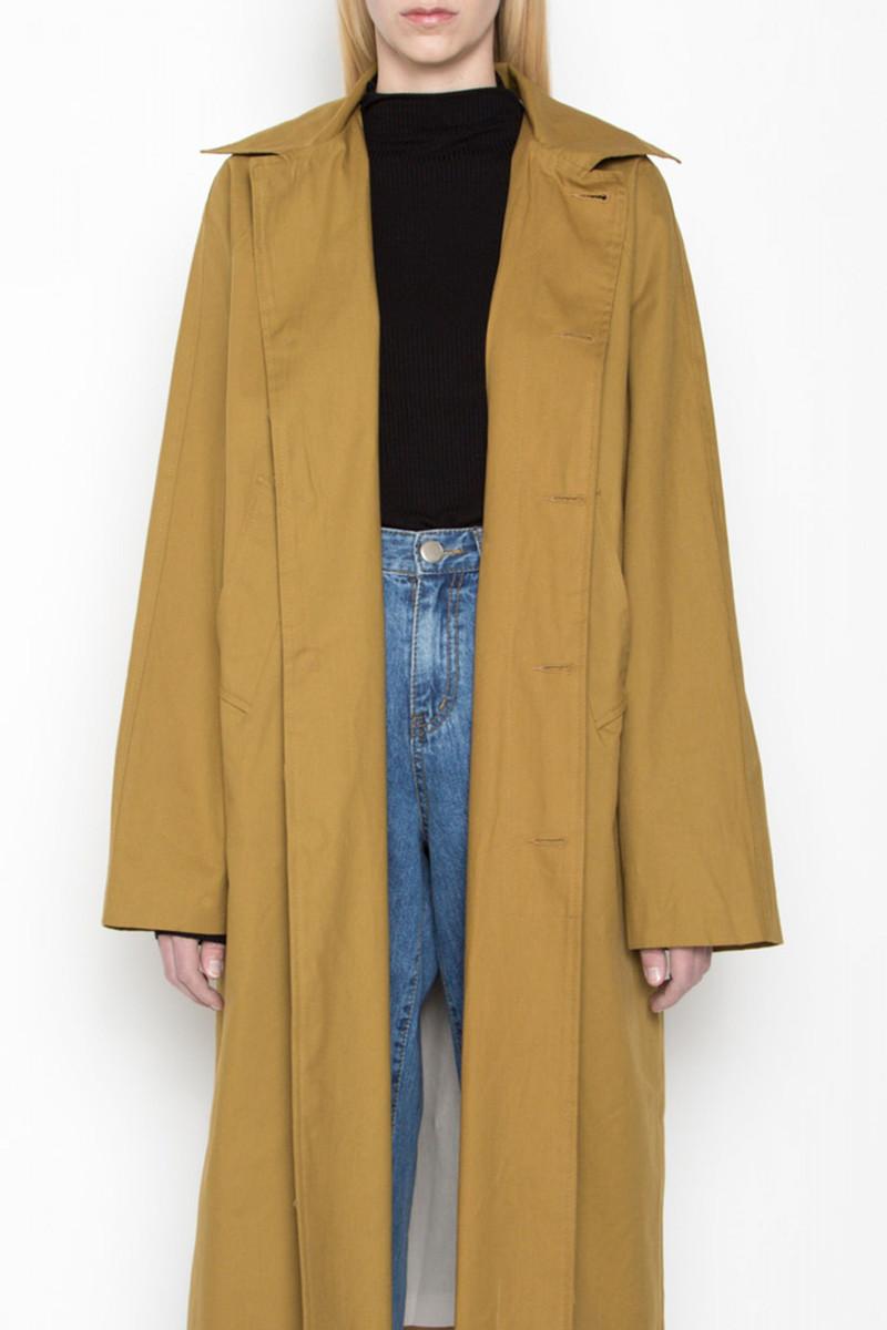 Coat G14 Mustard 6