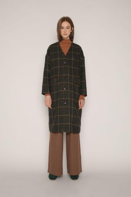 Coat H053 Olive 1