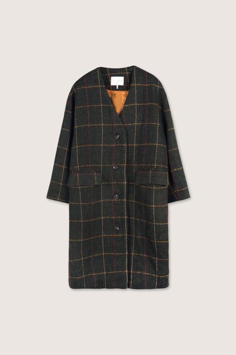 Coat H053 Olive 10