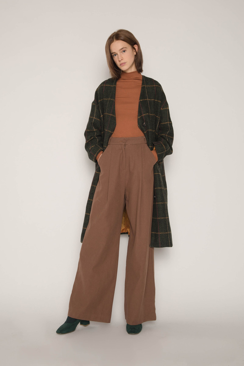 Coat H053 Olive 2