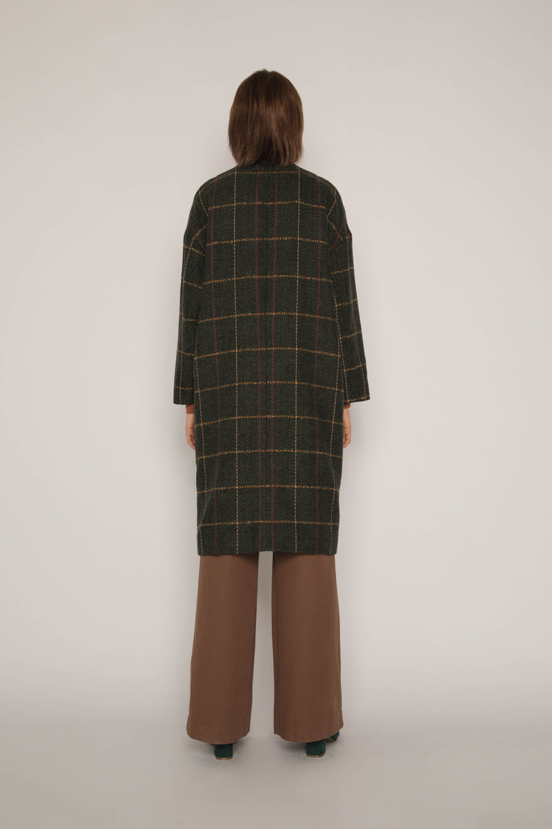 Coat H053 Olive 4