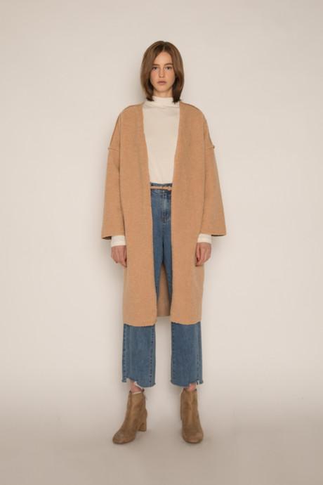 Coat H061 Beige 1