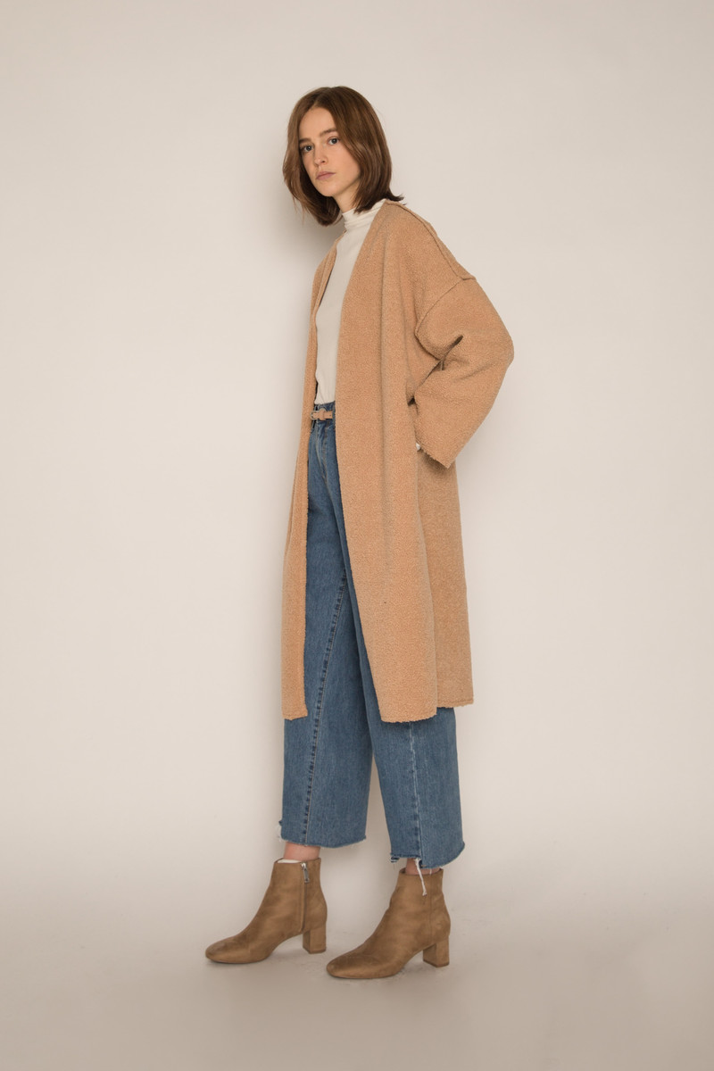Coat H061 Beige 2