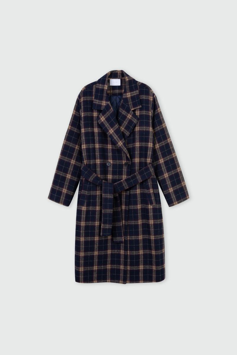 Coat J002 Navy 2