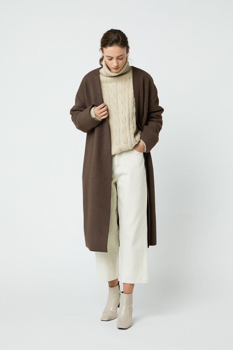 Coat J008 Brown 1