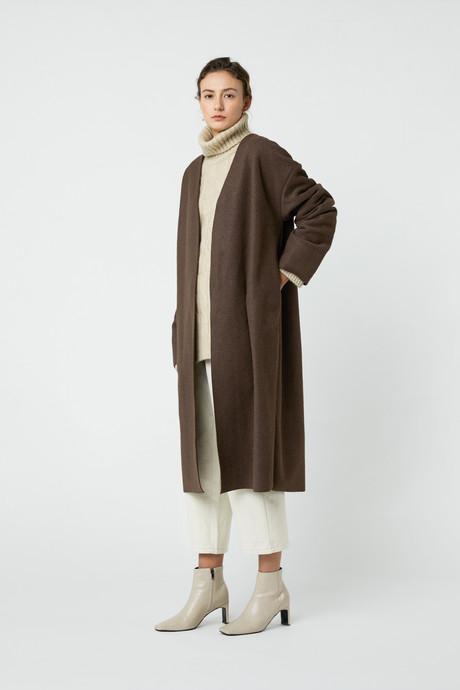 Coat J008 Brown 2