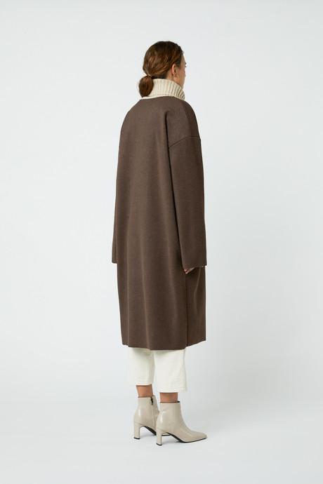 Coat J008 Brown 4