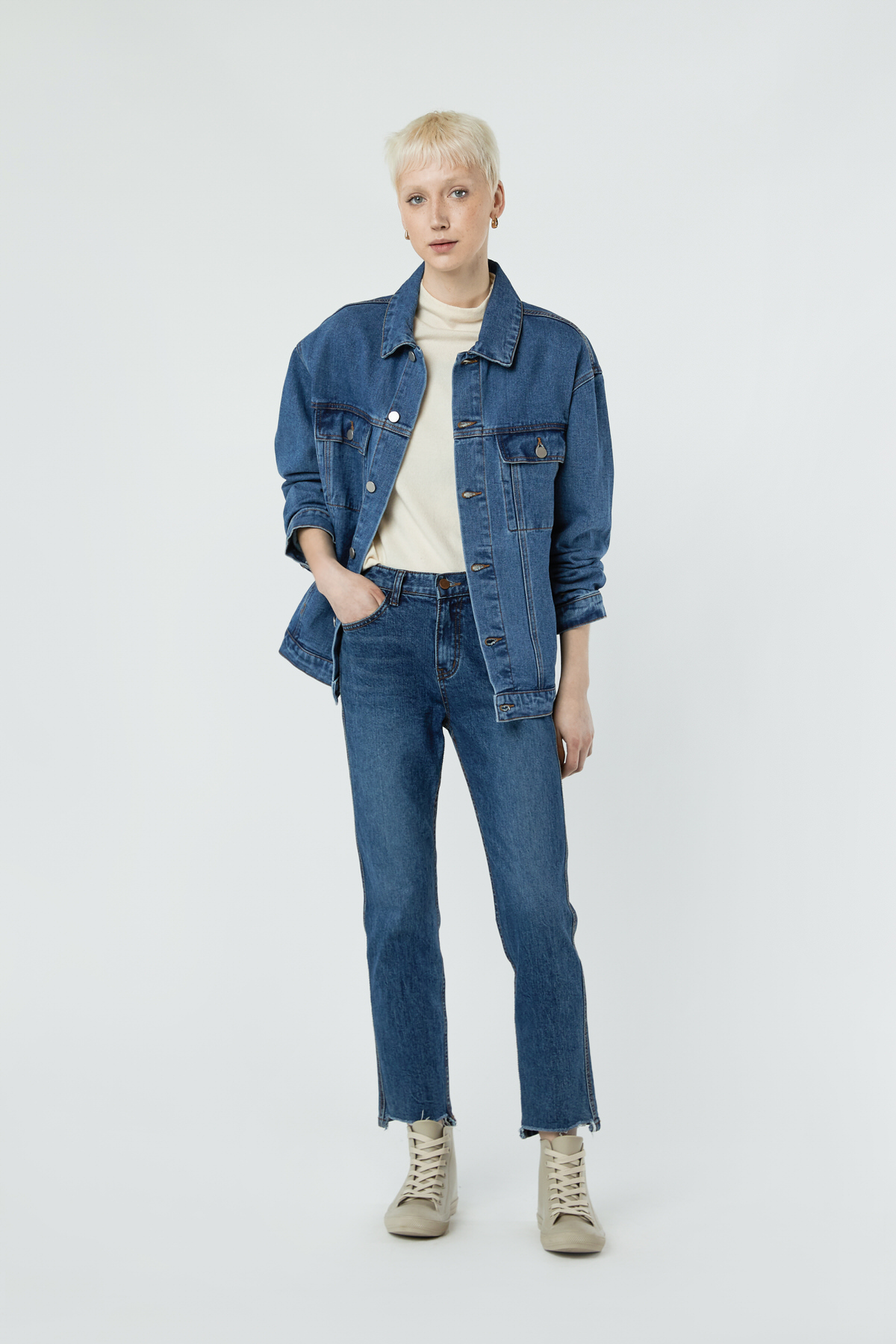 Denim Jacket 3318 Indigo 1