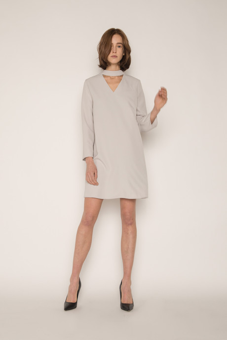 Dress 1646 Gray 2