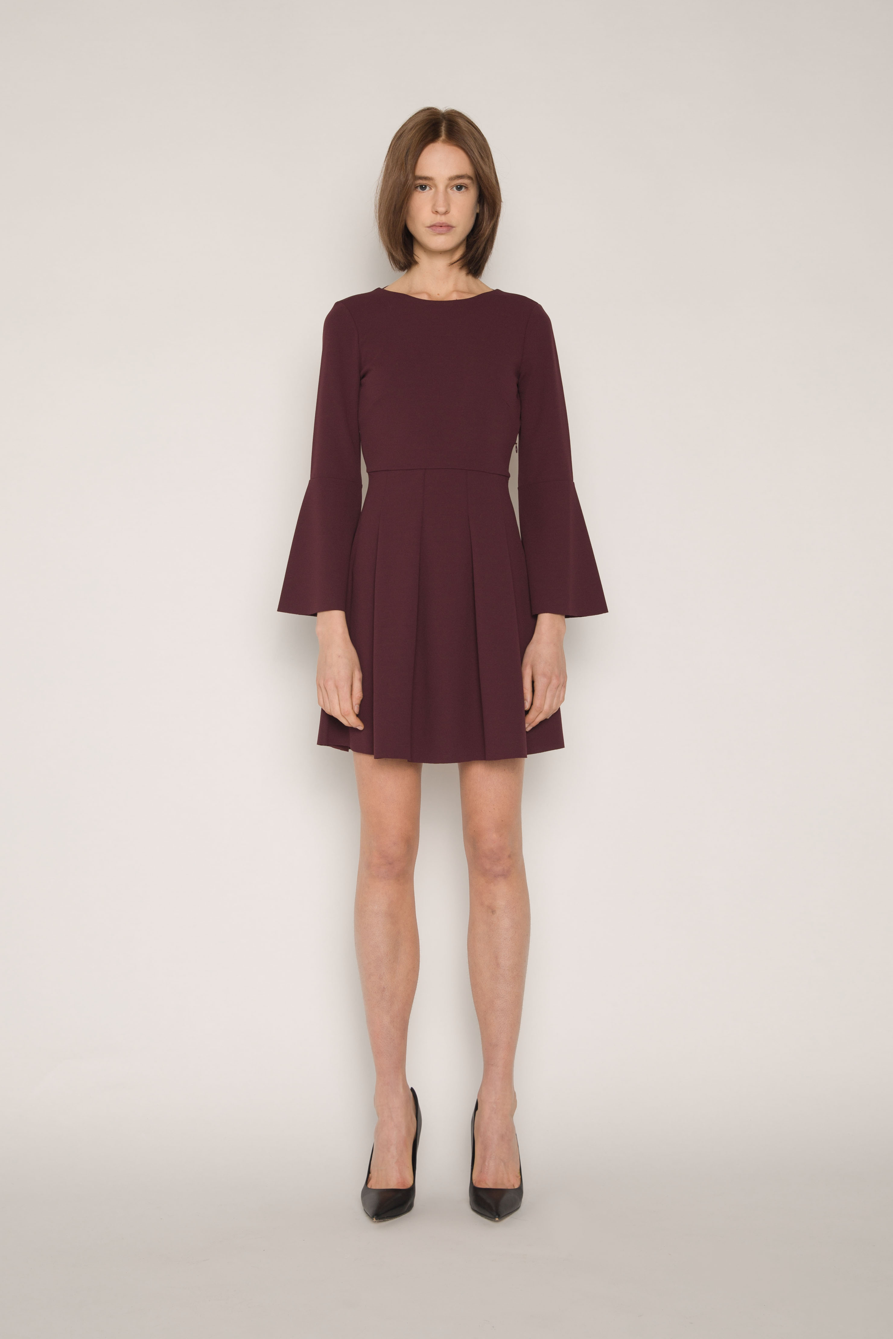 Dress 1675 Burgundy 1