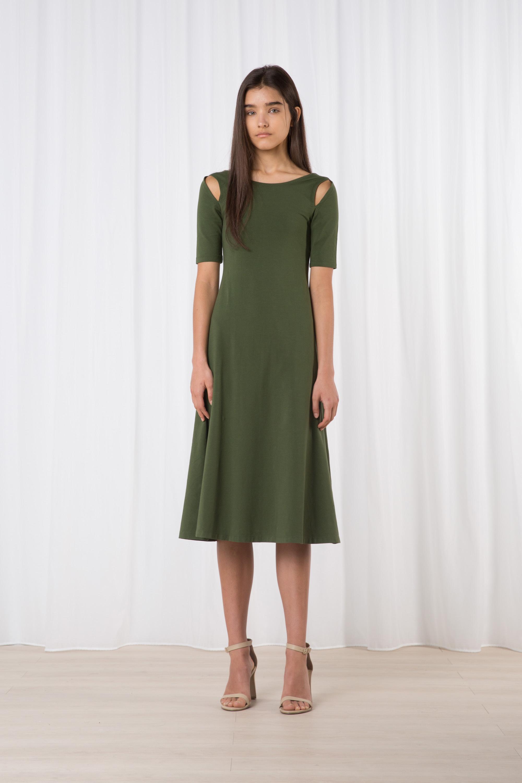 Dress 2141 Green 1