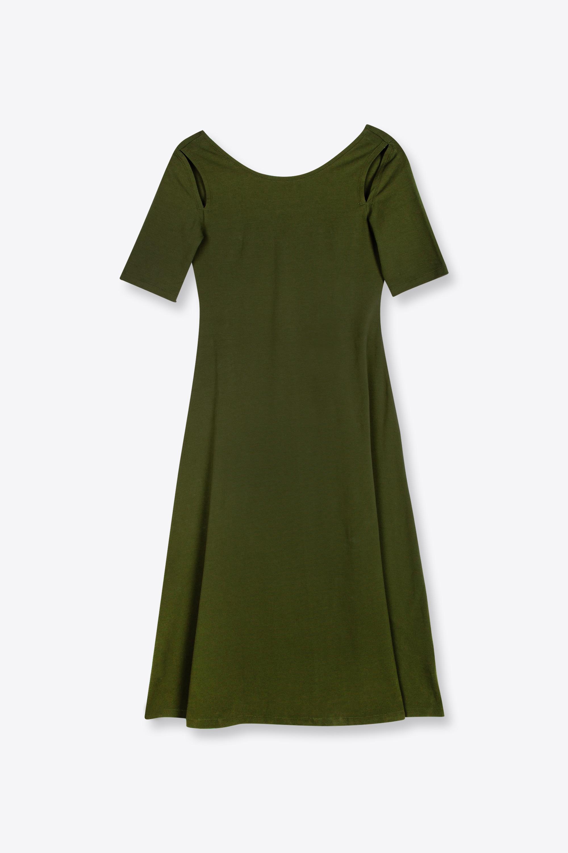 Dress 2141 Olive 5