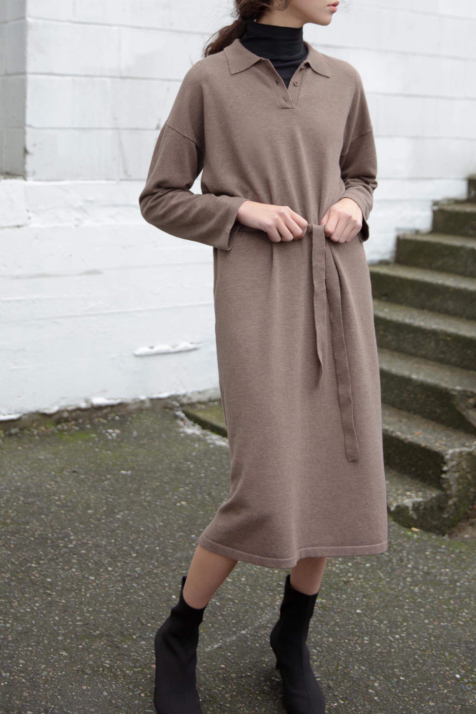Dress 2489 Brown 1