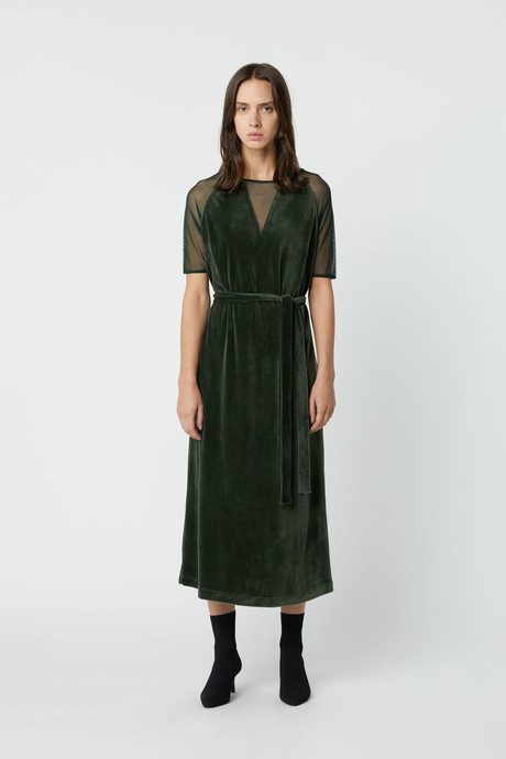 Dress 2683 Dark Green 1