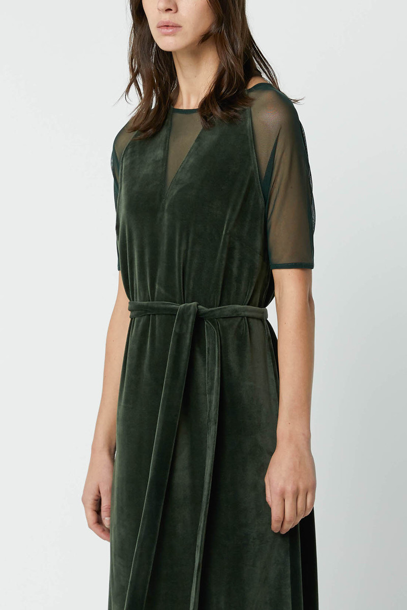 Dress 2683 Dark Green 2