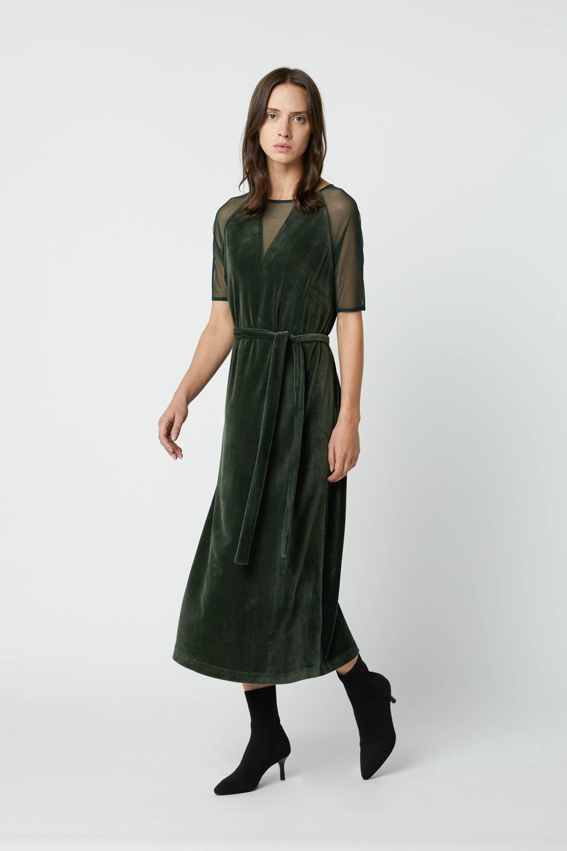 Dress 2683 Dark Green 3