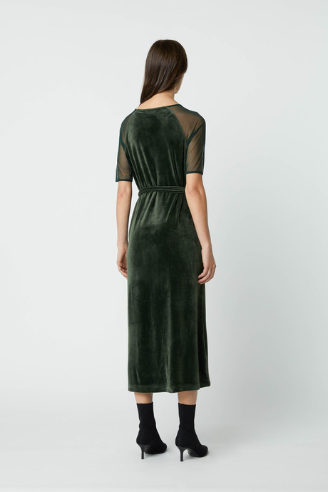 Dress 2683 Dark Green 4