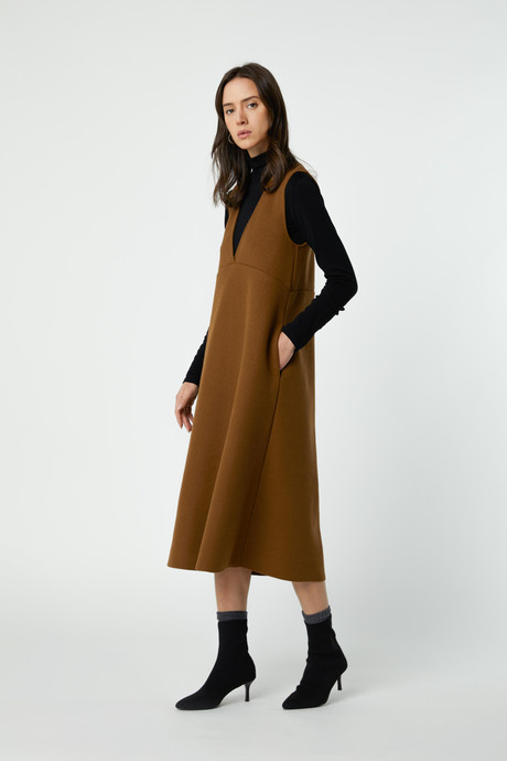 Dress 2760 Brown 1