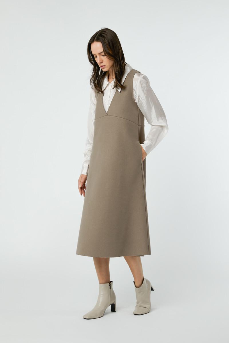 Dress 2760 Taupe 10