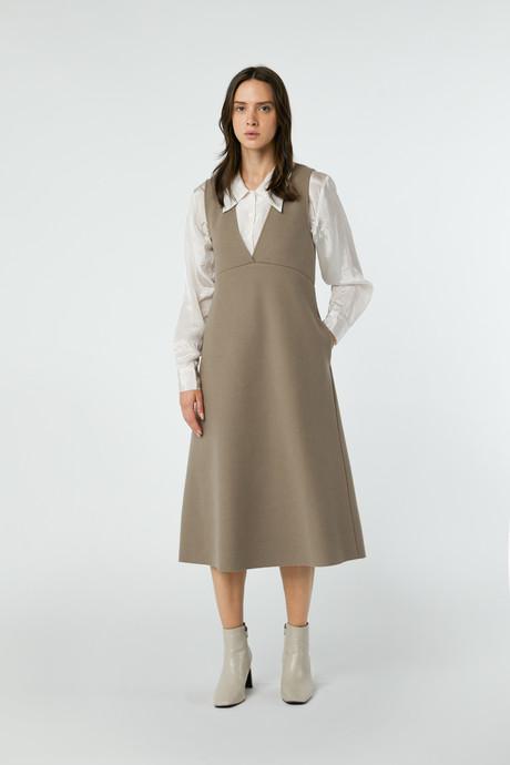 Dress 2760 Taupe 11
