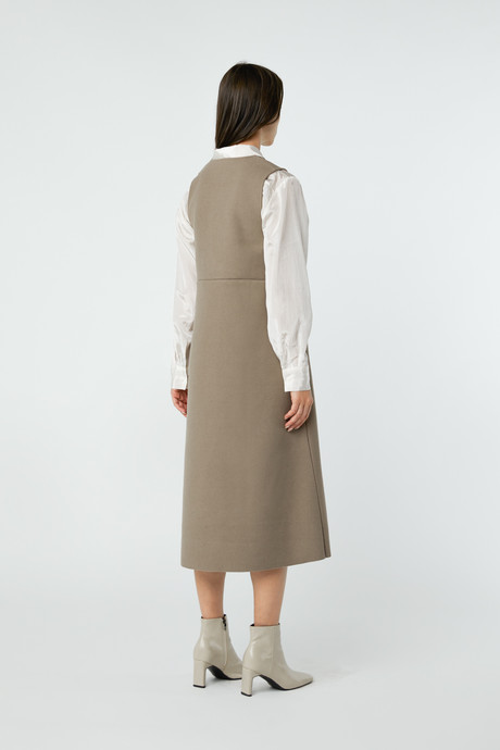 Dress 2760 Taupe 12