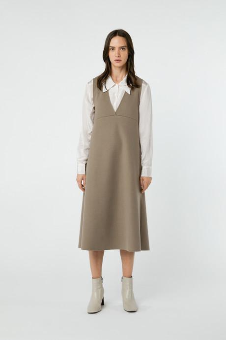 Dress 2760 Taupe 9