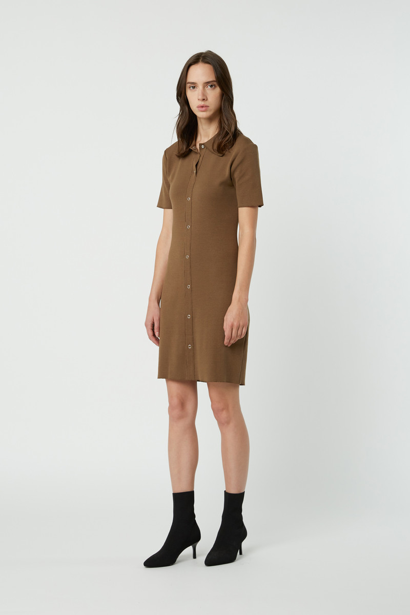 Dress 2835 Brown 3