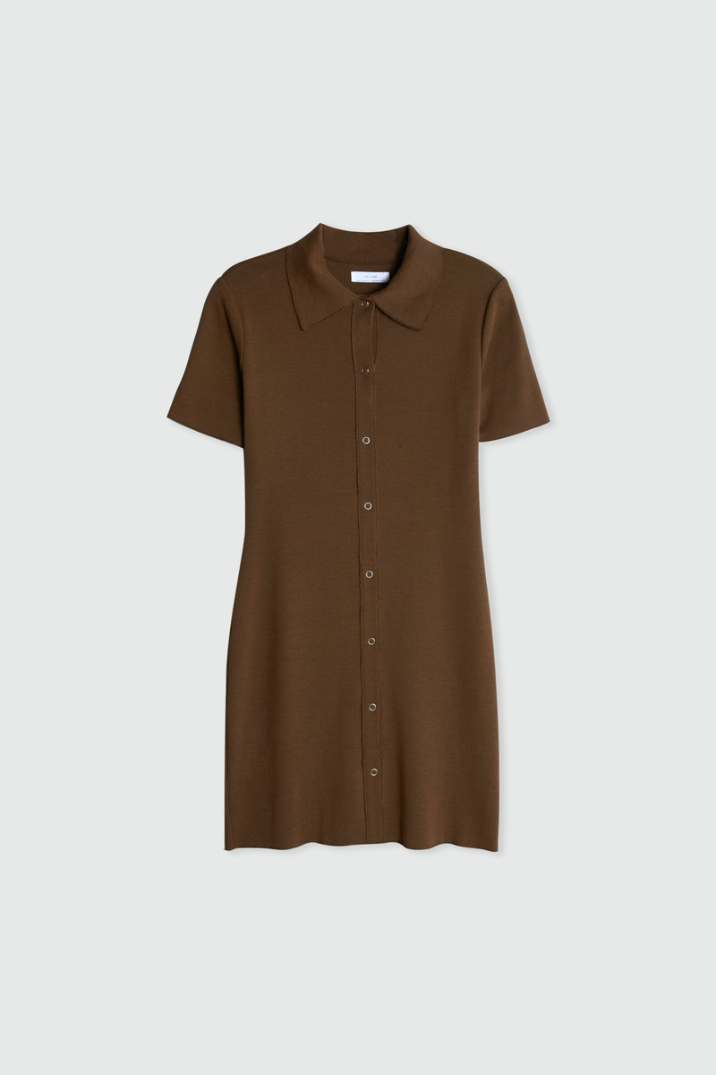 Dress 2835 Brown 5