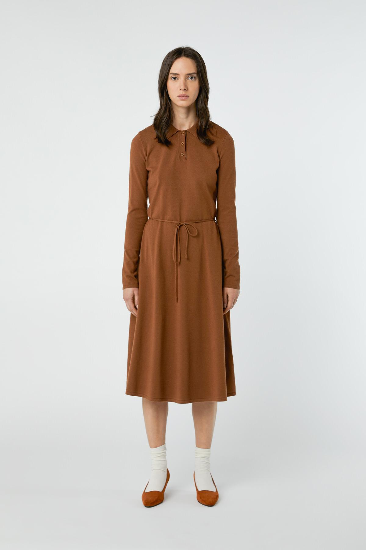 Dress 2868 Brown 9