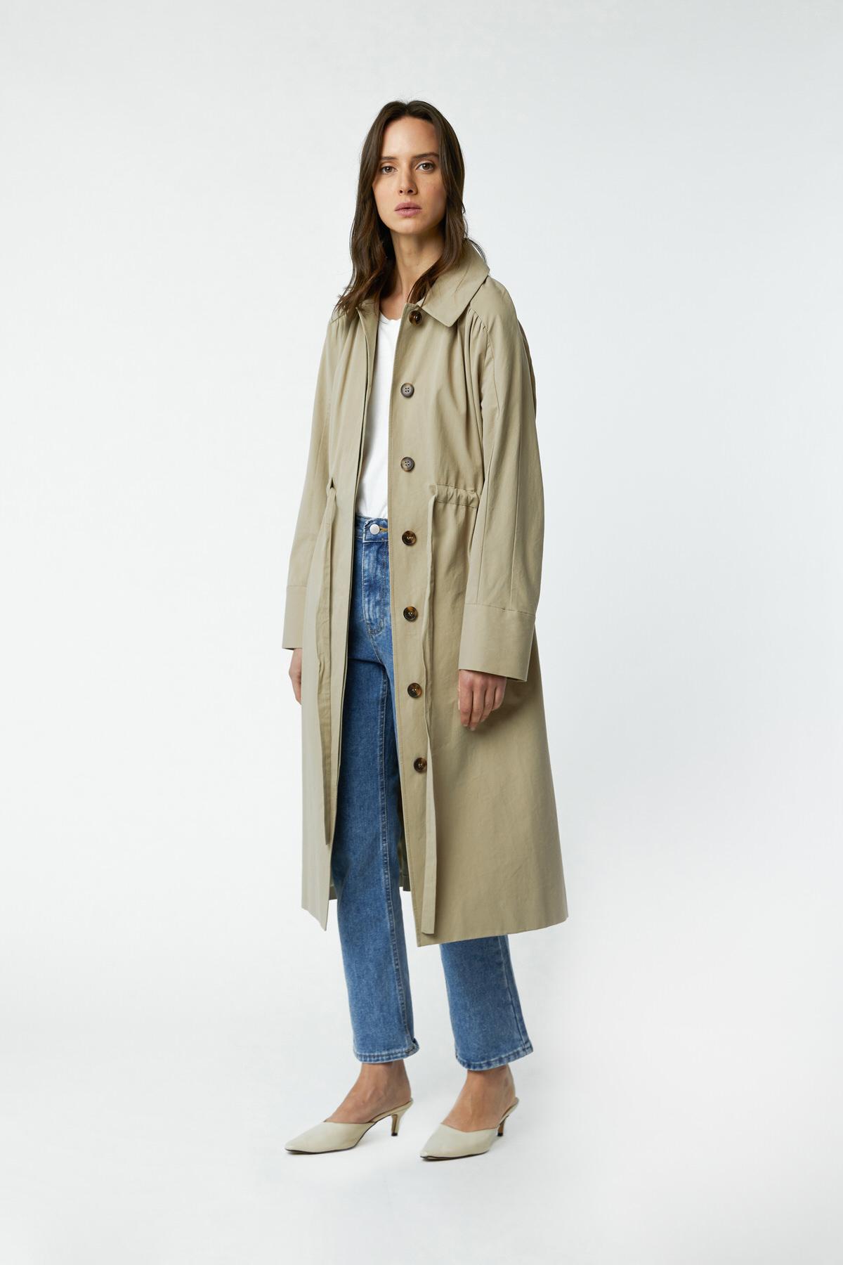 Dress 2966 Khaki 1