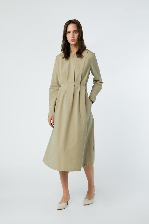 Dress 3081 Khaki 1