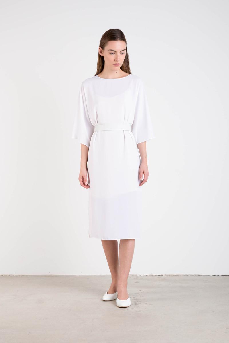 Dress 3139 White 4