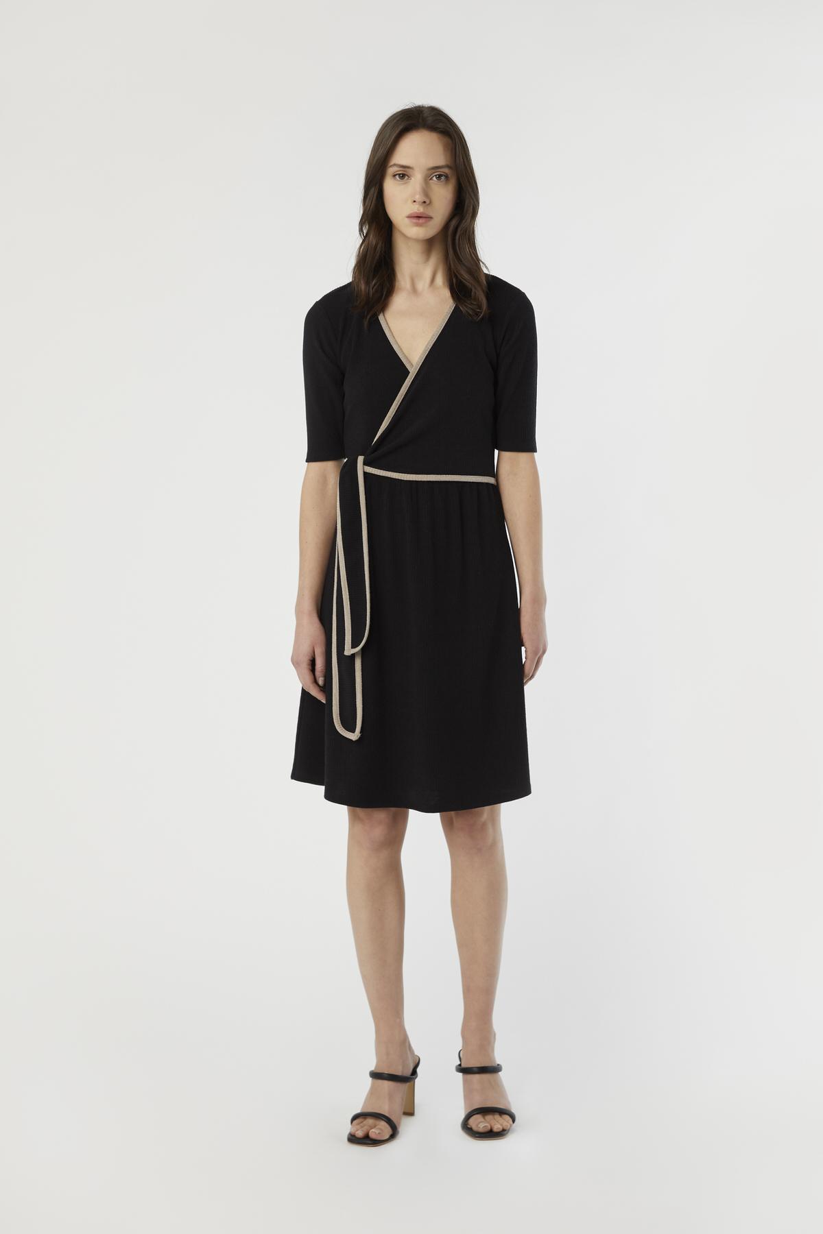 Dress 3184 Black 2