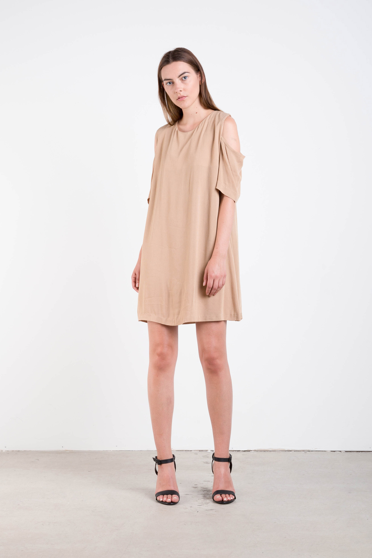 Dress FE5 Beige 1